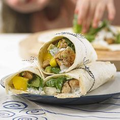 Exotische wrap met kip | Colruyt