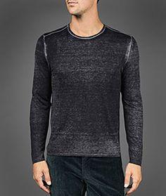 Men's Cashmere Sweaters - V Neck & Crew Neck Cardigan Sweaters   John Varvatos