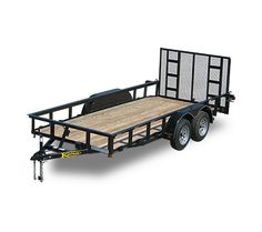 Kaufman Trailers offers all popular utility trailers including single axle, tandem landscape, as well as flatbed style utility trailers. Trailer Plans, Car Trailer, New Trailers, Utility Trailers For Sale, Equipment Trailers, Rv Accessories, Mechanical Engineering, Welding Projects, Land Rover Defender