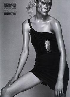 Bimba Bosé by Steven Klein for Vogue Italia, February 2001