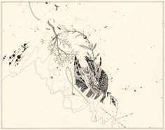 Artist: Ernesto Caivano, Title: Courtship Alignments, 2004.