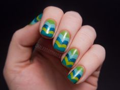 """""""I love the fishtail/chevron design because it doesn't take long NOR is it very difficult, but it still looks really awesome."""""""