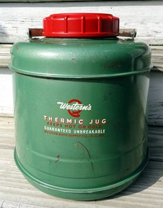 Vintage Thermic Jug  Western Auto Supply
