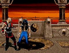 n64thstreet:  Kano keeps it brutal in Mortal Kombat Trilogy, by Midway.