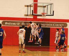 Butch Thompson Court - Reedsport, OR Southern Oregon Coast, Basketball Court