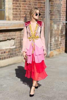 Street Style from Australian Fashion Week