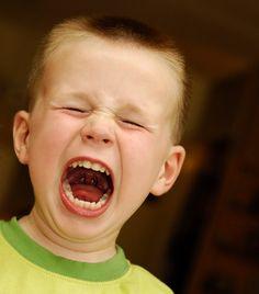 Furious screaming boy     regular version