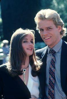 Fallon (Pamela Sue Martin) and Steven (Al Corley), Dynasty 1981