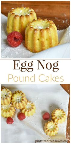 Egg nog pound cake is sure to be a hit with your holiday guests! A favorite holiday drink tucked in a super moist cake --- now that's my kind of holiday dessert! @alicanwrite