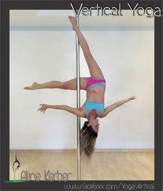 Pole Picture of the Day: Aline K. #verticalyoga #BKPPOD #BadKittyPride  Submit your photos here: www.badkitty.com/submit  Aline is wearing PoleFit® Color Block Brazil Shorts: http://www.badkitty.com/color-block-brazil-pole-dancing-shorts.html