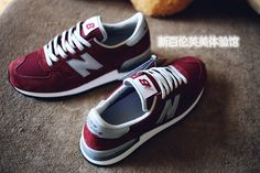 Men And Women New Balance 990 NB990 Shoes A  Nubuck M990BD Wine Red|only US$75.00 - follow me to pick up couopons.