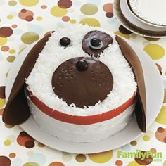 Doggone Cute Cake: A cake that looks this good and is easy to make? Consider it mom's new best friend!