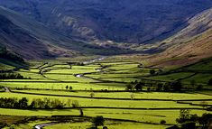 Mickleden, The Lake District, Cumbria England, UK