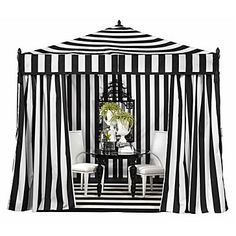 Our Portofino Pavilion, exclusive to Z Gallerie, is a great way to entertain outdoors, providing a suitable amount of shade. $699.00  #ZGallerie  #Tent