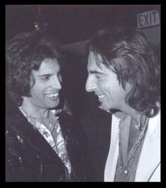 Fred Mercury & Alice Cooper