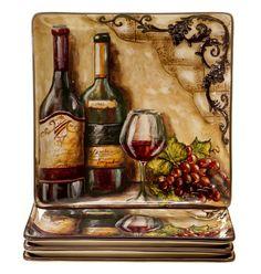 "Certified International Tuscan View 10.75"" Dinner Plate & Reviews | Wayfair"