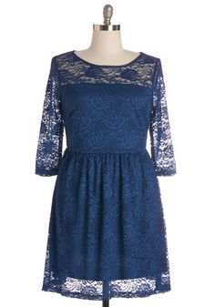 Style Savant Dress in Plus Size. Since you were a child, youve had special style skills, and youre continuing to make strides in this sea-blue lace dress! #blueNaN