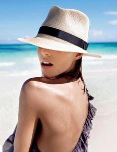 Beach hat style...............