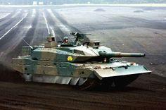 Type-10 - Japanese main battle tank