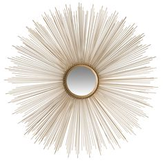 Buy the Safavieh Gold Direct. Shop for the Safavieh Gold Diameter Circular Mirror from the Sunburst Collection and save. Rustic Wall Mirrors, Wall Mirrors Set, Mirror With Shelf, Round Wall Mirror, Mirror Set, Sun Mirror, Mirror Bathroom, Mirror Ideas, Gold Frame Wall