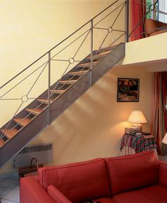 Escaliers on pinterest stairs staircases and railings - Decoration rampe escalier ...