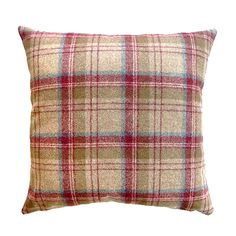 Simple and stylish, the timeless design of our tweed inspired cushion will complement your traditional decor effortlessly