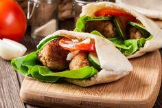 Healthy Falafel In Pita Recipe – Kayla Itsines