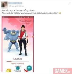 Cộng đồng game thủ Việt thích thú với tính năng mới của Pokemon GO