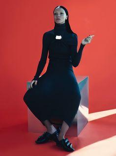 visual optimism; fashion editorials, shows, campaigns & more!: mariacarla boscono by mert and marcus for vogue paris november 2014