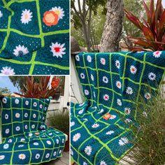 Picnic Blanket, Outdoor Blanket, Knitting, Crochet, Tricot, Breien, Stricken, Ganchillo, Weaving