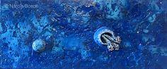 Dos medusas - 2017 (66 x 28 cm.)