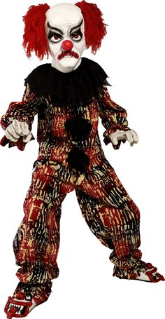 had to.            Zombie Alley Childrens Scary Clown Costume (36161) £35.99 #fancydress #costumes #Halloween