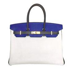 Hermes Birkin 35 Tri-Color Epsom Special Order Bag Jane Birkin de0e8611ee481