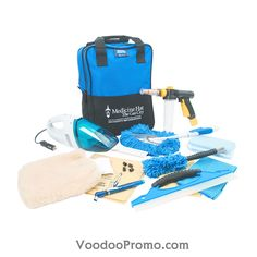 Cleaning kit for your car. Imprint your logo on the bag.  http://www.voodoopromo.com/produits-wow.html