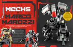 Thanks Lewis Matthews for my interview in BRICKS ISSUE 17 |  The world of Sci-fi continues as Bricks delves into the world of mechs. A popular genre that can spawn the most amazing mechanical creations and with ace builder Marco Marozzi on hand to guide you through the dos and dont's spawning a two-legged mechanoid has never been easier. #lego #legomech #mecha