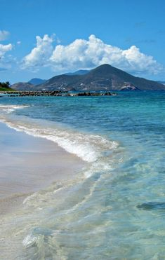 Basseterre, St. Kitts | The islands expansive coastline makes for enough beaches you're sure to find your own isolated spot and call it your own.