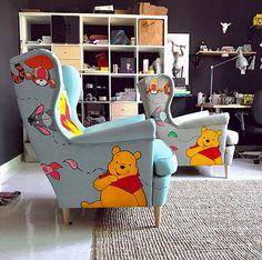 Ideas quotes disney winnie the pooh eeyore Winnie The Pooh Decor, Winnie The Pooh Nursery, Winne The Pooh, Disney Winnie The Pooh, Casa Disney, Disney Rooms, Nursery Room, Baby Room, Bedroom