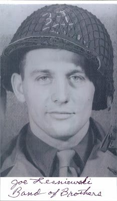 Joe Lesniewski, soldier, hero, member of original Band of Brothers. d. 5/23/2012