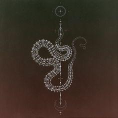 Serpiente Cosmica / Kris Davidson / Sacred Geometry <3: