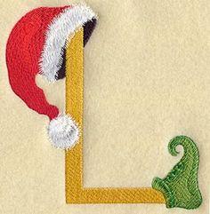 Elf Letter L - 5 inch