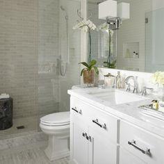 love the sink, vanities,countertop and pulls