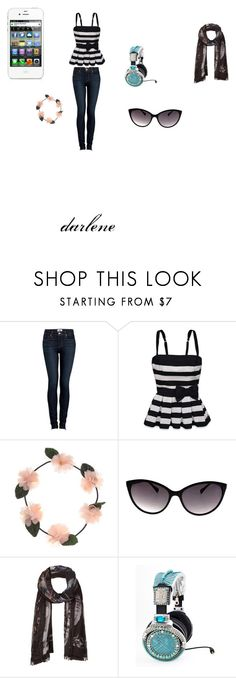 """""""things are good to do"""" by darlene-diaz ❤ liked on Polyvore featuring Paige Denim, Hollister Co., AllSaints and On Aura Tout Vu"""