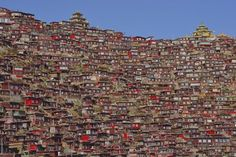 Untitled Photo by Shinya Itahana -- National Geographic Your Shot. The nuns housing of Tibetan Buddhists in Larung
