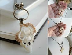 Sea Shell Craft Necklace | seashell necklace by JuleeMClark