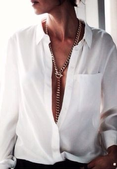 button-down with a twist