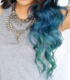 Ocean wave mermaid hair → http://youtu.be/AwCrw50tsZI