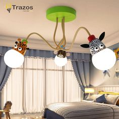 Children S Light Model Animal Giraffe Lovely Lamps For Rooms Child Ceiling Decoration Lighting