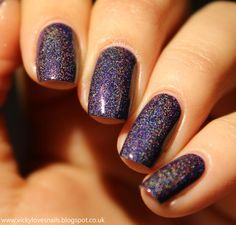 Nailpolis Museum of Nail Art | Freckles Polish The Seven Wonders Swatch by Vicky Standage