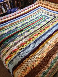 U Scrap Afghan By Anastacia Zittel - Free Crochet Pattern - (ravelry)
