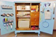 born again creations: 26. Craft Cupboard Stage 3 - Storage
